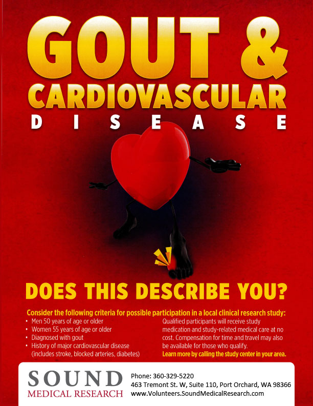 gout w   heart disease  10027   u00ab sound medical research